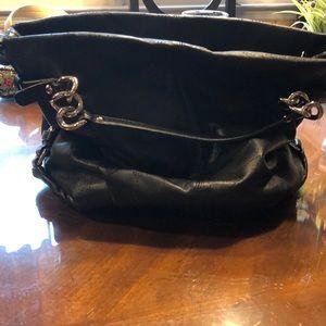 Coach leather satchel purse